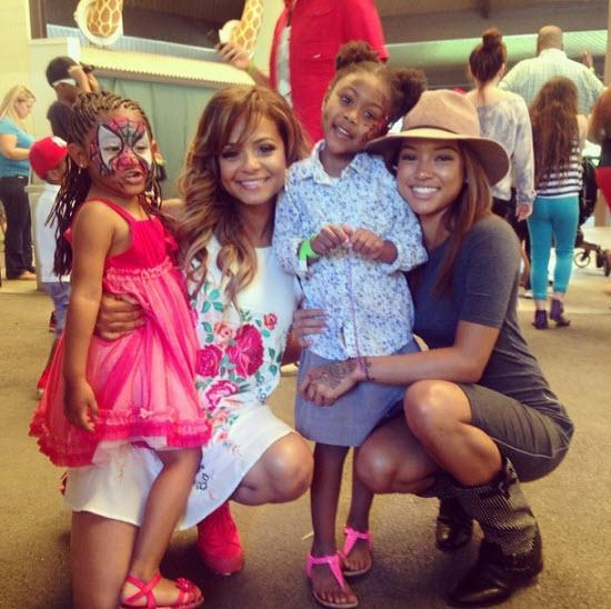 People : Amber Rose et Karrueche Tran à l'anniversaire de la fille de Christina Milian