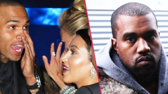 People : Kanye West veut annuler son mariage à cause de Chris Brown
