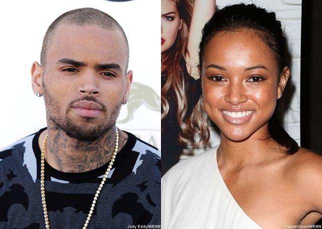 People : Chris Brown barre ENCORE Karrueche