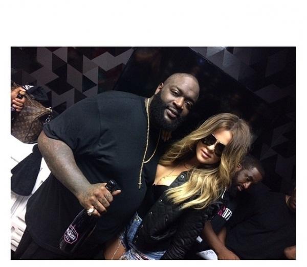 People : Khloé Kardashian et Rick Ross en couple ? Yeuuuch !