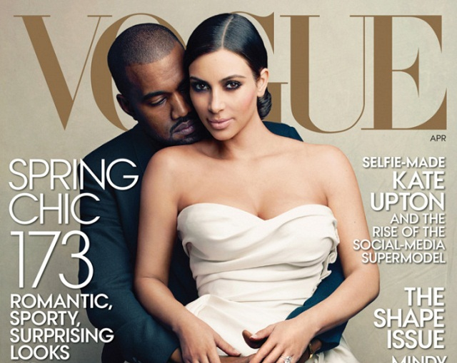 People : Kimye (enfin) en couverture de Vogue !