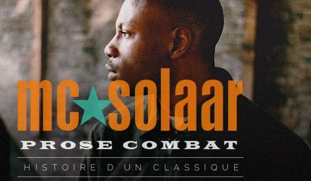 Musique : MC Solaar célèbre les vingt ans de « Prose Combat »