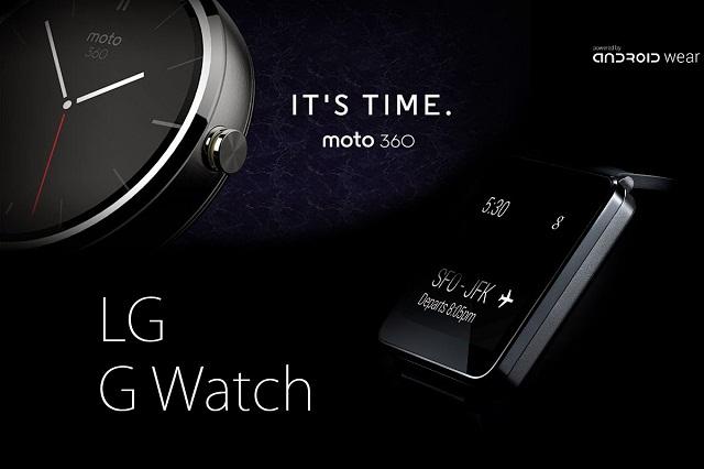 Tech : Les nouvelles montres connectées de Motorola et LG fontionnant sous Androïd Wear