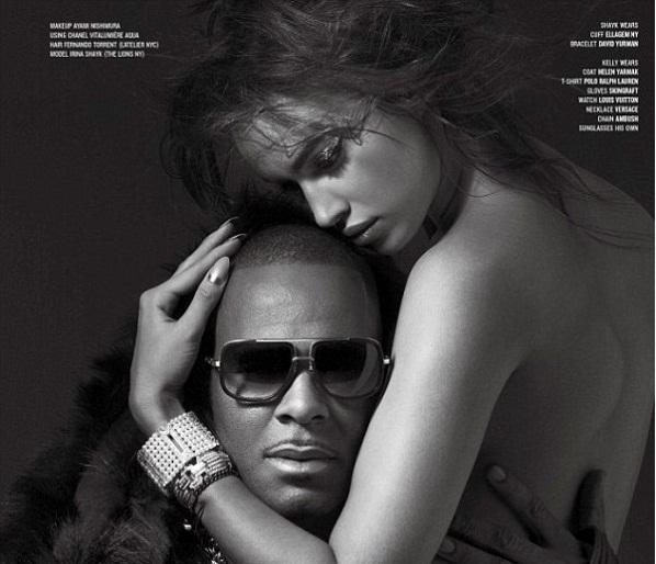 People : La petite amie de Cristiano Ronaldo nue dans les bras de R. Kelly