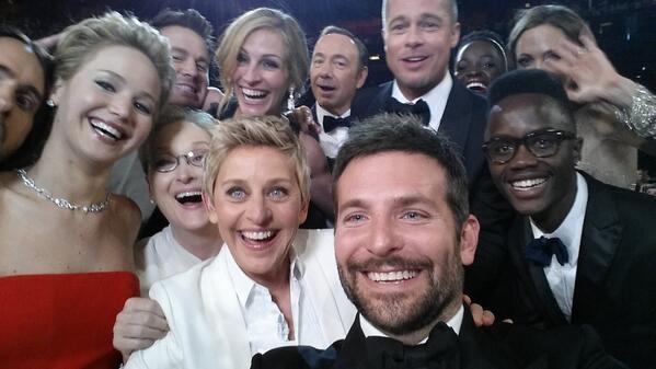 Tech : Samsung a sponsorisé les selfies des Oscars 2014