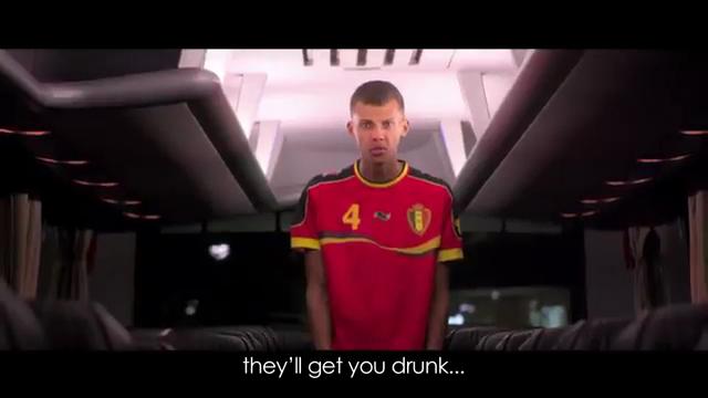People : Stromae à la Coupe du monde Brésil 2014