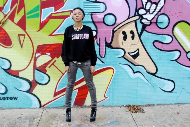 Mode : Les sweat-shirts Black&Pink de Beyoncé