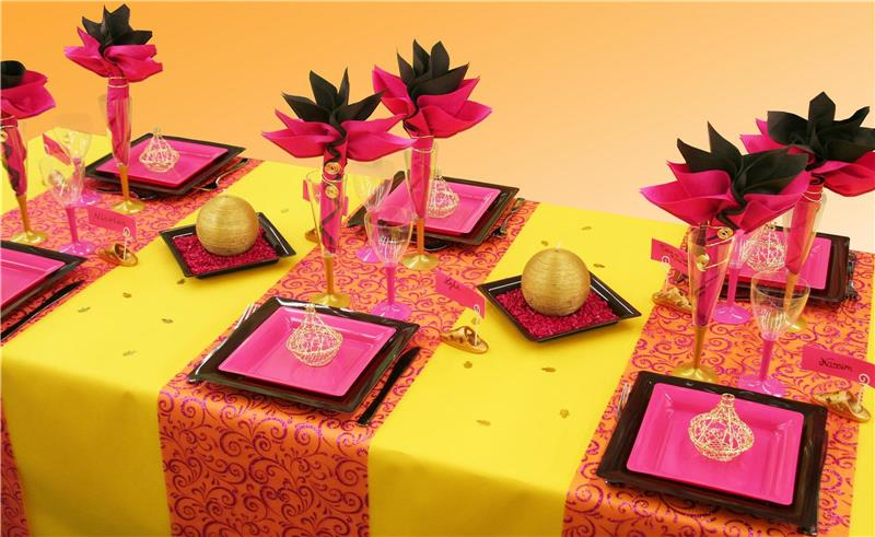mariage deco coloree jewanda 6 je wanda magazine. Black Bedroom Furniture Sets. Home Design Ideas