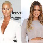 People : Amber Rose et Khloe Kardashian, la guerre est déclarée !
