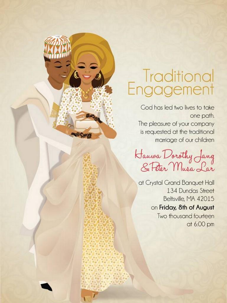 Faire Part Mariage Coutumier Africain Faire Part Mariage 2