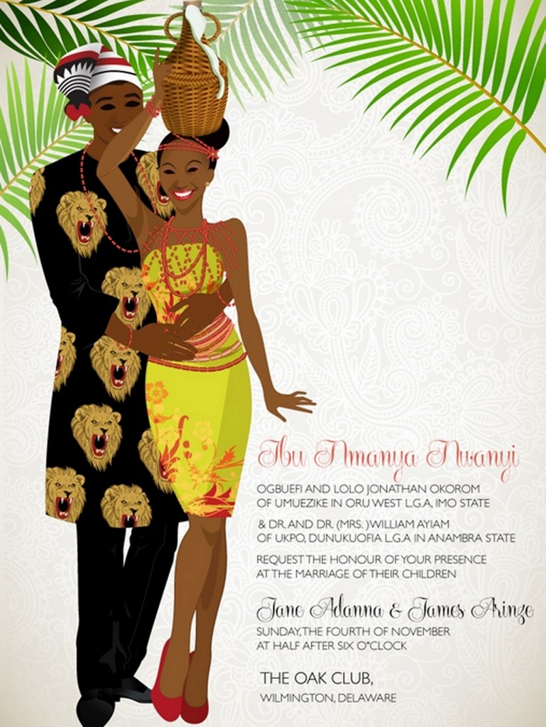 Traditional Wedding Invitation with best invitations example
