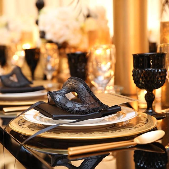 inspiration deco mariage noir blanc or gatsby jewanda 17. Black Bedroom Furniture Sets. Home Design Ideas