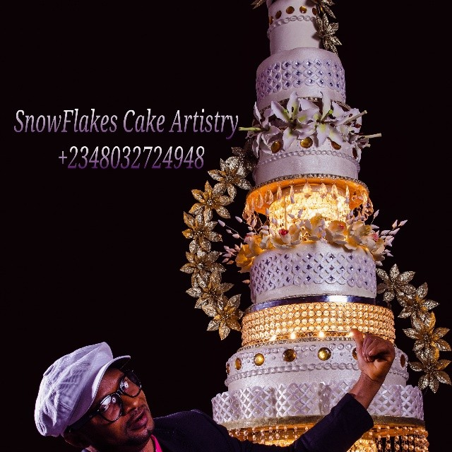 WanDiscovery - SnowFlakes-Artistry - Gateaux-mariage-africains-Nigeria ...