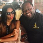 People : Valérie Ayena fait un tour au Platinum Café à Yaoundé
