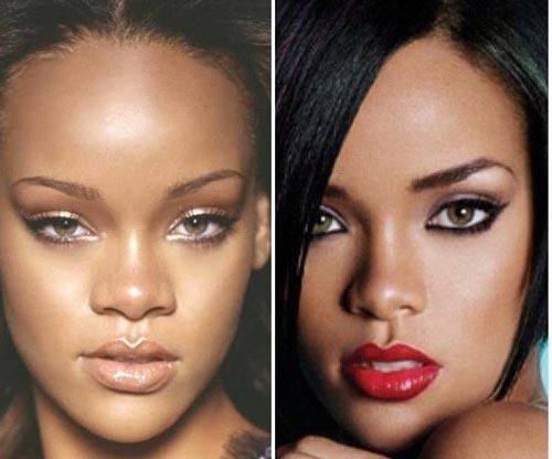 Rihanna les stars avant et apres la chirurgie esthetique jewanda je wanda magazine - Rihanna avant apres ...