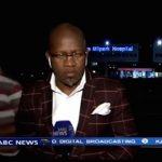 Vidéo : Un journaliste se fait braquer à l'antenne !