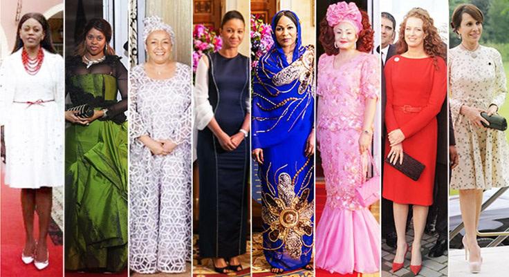 People : 10 des plus belles Premières Dames africaines ...