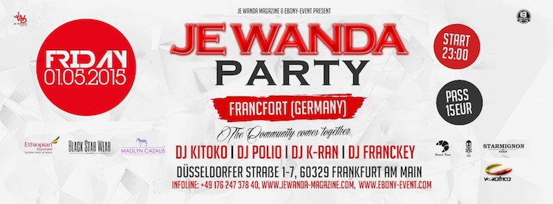 Je Wanda Party Francfort - Reservations