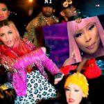 """Vidéo : """"Bitch I'm Madonna"""" de Madonna avec Nicki Minaj, Beyoncé, Kanye Wes..."""