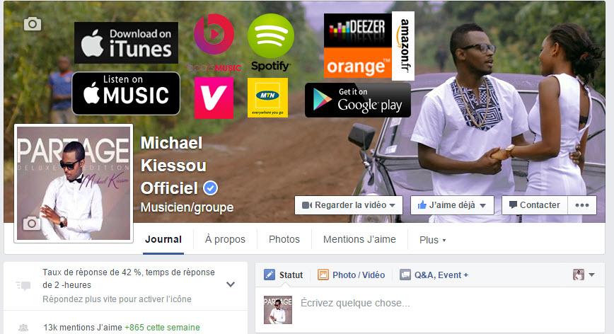 micheal-Kiessou page-facebook-certifiee-jewanda
