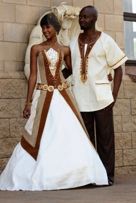 Wedding Gifts For Couples South Africa : Mariage : 25 superbes tenues de mariee dinspiration africaine Je ...