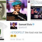Réseaux sociaux : #EtooPeut, le hashtag237 de l'heure...