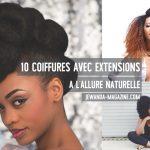 Inspiration : 10 coiffures avec extensions à l'allure naturelle