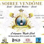 Wand'Event : Soirée Vendôme le 18 décembre 2015 à l'Olympia Douala