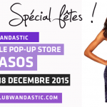 Wand'Event : Pop-Up eStore ASOS du 4 au 18 décembre 2015 au Club Wandastic