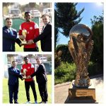 Sport : Samuel Eto'o reçoit le trophée du meilleur transfert en Turquie 201...