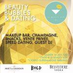 """Wand'Event : """"Beauty Bubbles & Dating"""" le 16 janvier 2016 à D..."""