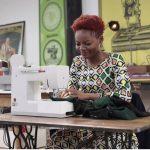 """TV : La congolaise Christelle Bahezi dans l'émission """"Cousu Main""""..."""