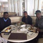 People : Samuel Eto'o reçoit Peter Okoye en Turquie