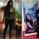 People : Tiwa Savage conseille les jeunes mamans sur les kilos de grossesse