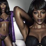 Mode : Naomi Campbell se lance dans la lingerie