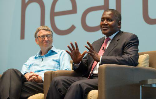 news aliko dangote et bill gates s 39 unissent pour combattre la malnutrition au nigeria je. Black Bedroom Furniture Sets. Home Design Ideas