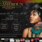 Wand'Event : Miss Cameroun Métropole 2016, le 5 février 2016 - Paris