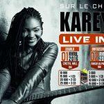 Wand'Event : Kareyce Fotso en tournée du 1 au 8 Avril 2016 au Cameroun