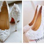 Mode : Quand la mariée trouve chaussure à son pied !