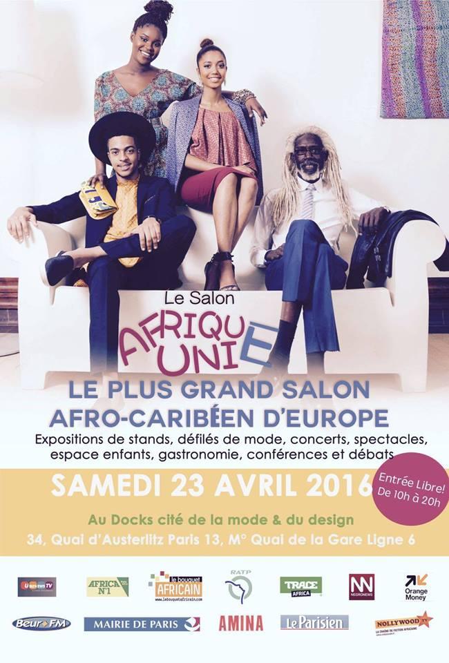 wand event le salon afrique unie le 23 avril 2016 paris je wanda magazine. Black Bedroom Furniture Sets. Home Design Ideas
