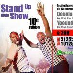 Wand'Event : Le Stand Up Night Show les 19 et 21 mai à Yaoundé (Cameroun)