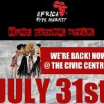Wand'Event : Africa Hype Market, Pop-Up shop mode et déco - 31 juillet 2016...