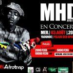 Wand'Event : MHD en concert les 3 et 4 août 2016 à Yaoundé et Douala