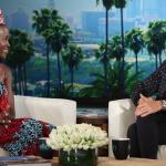 Mode : La créatrice camerounaise Kibonen Nfi habille Lupita Nyong'o, les am...
