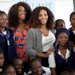 News : Serena Williams construit des écoles en Ouganda, au Zimbabwe et au K...