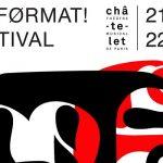 Wand'Event : No Format! Festival, 21 & 22 octobre, Paris - France