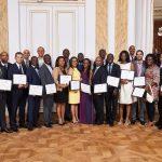 News : 23 leaders économiques africains reçoivent le premier certificat LeA...