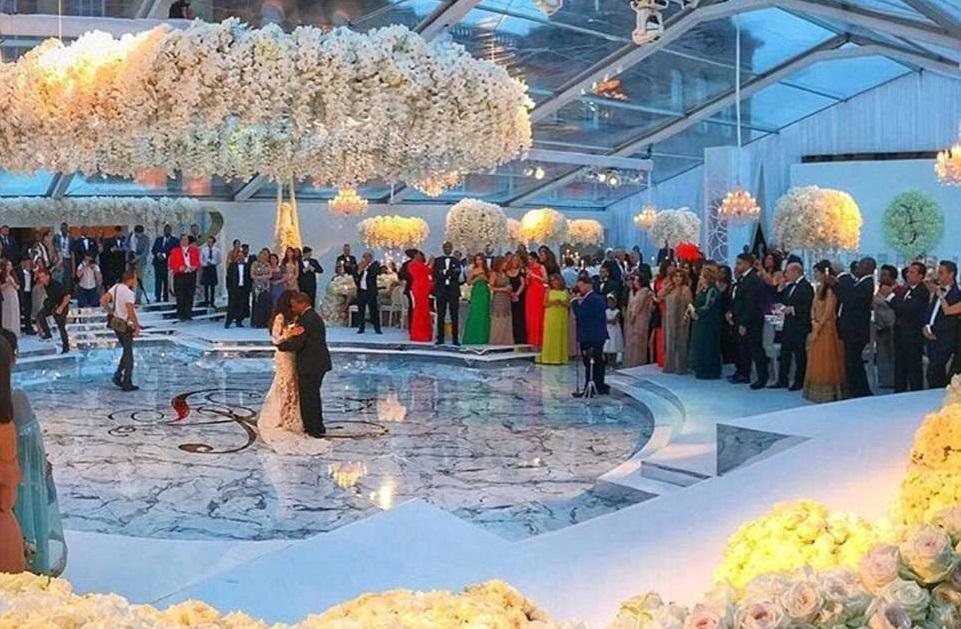 """Résultat de recherche d'images pour """"Le mariage le plus luxueux de l'année entre un riche nigérian et l'ex de Rob Kardashian"""""""