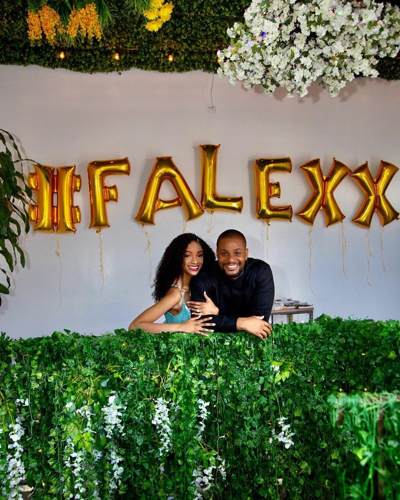 L'acteur Nigérian Alexx Ekubo Demande Sa Chérie En Mariage